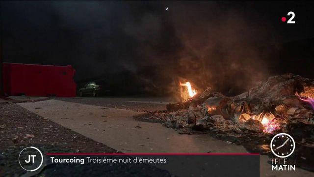Nord : nouvelle nuit d'émeutes à Tourcoing