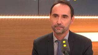Lionel Fontagné est professeur à l'univesité Paris 1 Panthéon-Sorbonne. (RADIO FRANCE / CAPTURE D'ÉCRAN)