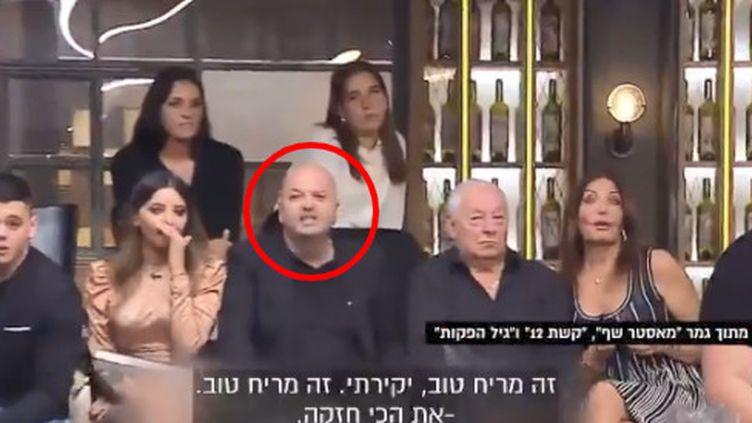 """Capture d'écran d'un extrait de l'émission israélienne """"Masterchef"""", le 22 septembre 2019. (MASTERCHEF)"""