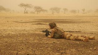 Un soldat français dans la région de Gourma, au Mali, le 26 mars 2019. (DAPHNE BENOIT / AFP)