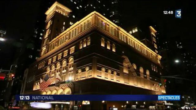 Piaf ressuscitée au Carnegie Hall à New-York