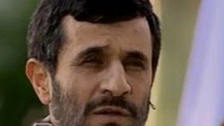 Le président iranien Mahmoud Ahmadinejad (France 2 (24-9-2007))