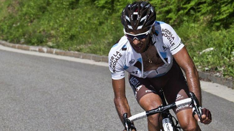 Jean-Christophe Péraud, leader de l'équipe AG2R
