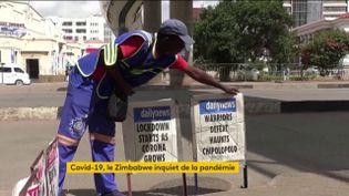Confinement forcé au Zimbabawe (FRANCEINFO)