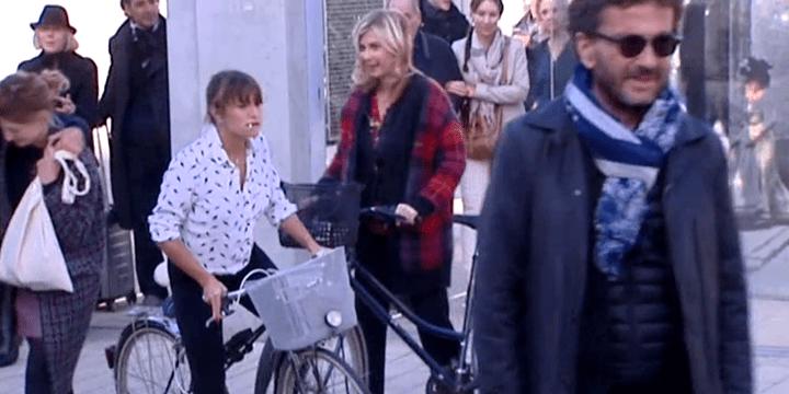 Emma de Caunes et Michèle Laroque, des figurantes de luxe.  (France 3)