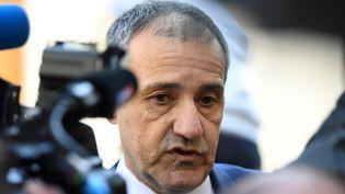 Jean-Guy Talamoni, le président de l'Assemblée de Corse. (ERIC FEFERBERG / AFP)