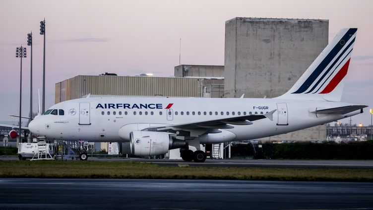 Un avion Air France sur le tarmac de l'aéroport Roissy Charles-de-Gaulle (Val d'Oise), le 30 novembre 2017. (MAXPPP)