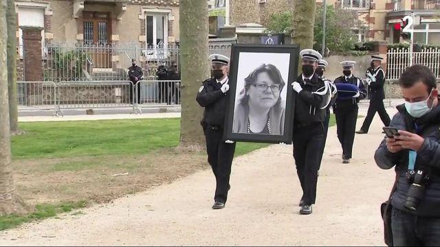 Attaque à Rambouillet : l'hommage de la nation à Stéphanie Monfermé