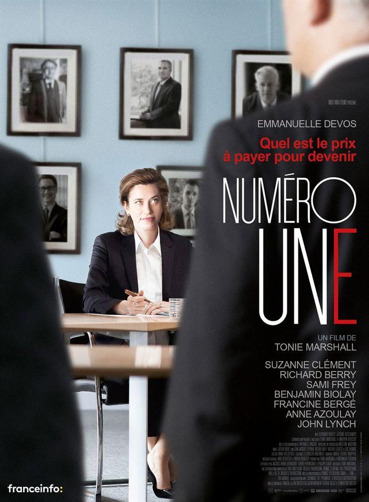 """L'affiche de """"Numéro une"""" de Tonie Marshall (2017). (Pyramide Distribution)"""
