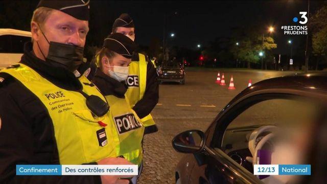 Confinement : les policiers durcissent les contrôles