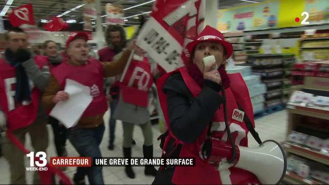 Carrefour : une grève de grande surface