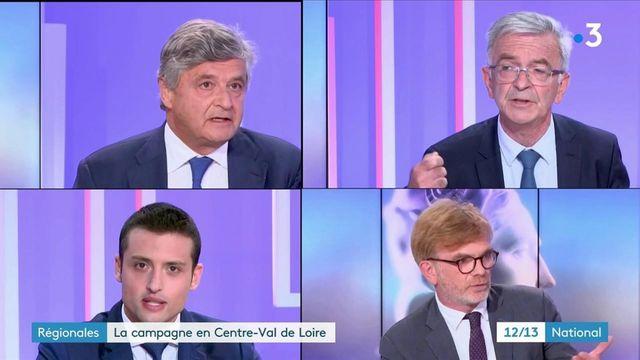 Élections régionales : en Centre-Val de Loire, les quatre candidats souhaitent remobiliser leur électorat