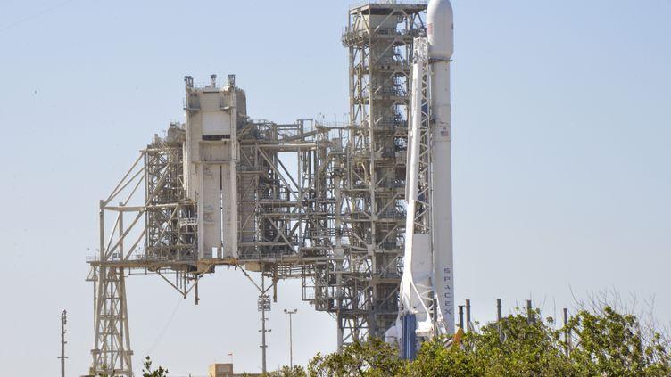 La fusée Falcon 9 de SpaceX, à Titusville (Floride, Etats-Unis). (JULIAN LEEK / CITIZENSIDE)