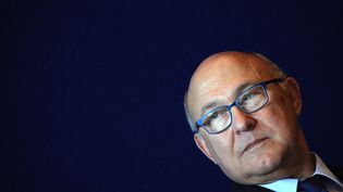 Le ministre des Finances, Michel Sapin, le 3 octobre 2014. (DOMINIQUE FAGET / AFP)
