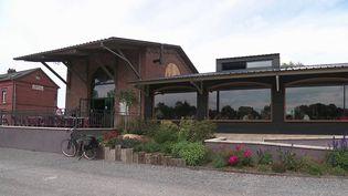 Aisne : une gare transformée en restaurant (France 3)
