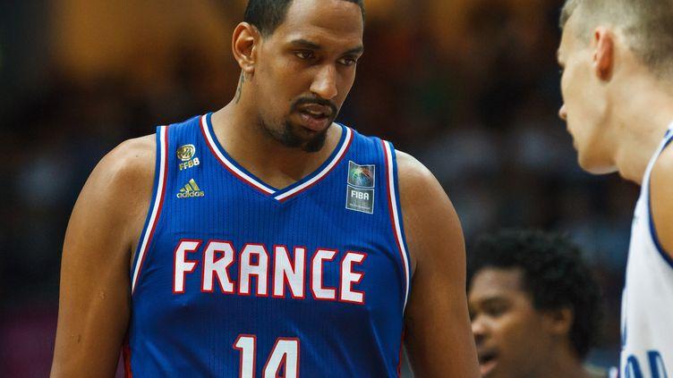 Alexis Ajinca obligé de quitter l'équipe de France (MIKA KYLM?NIEMI / LEHTIKUVA)