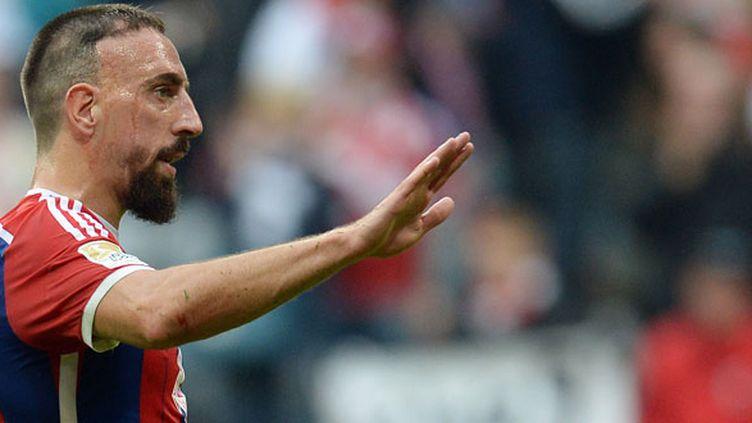 Franck Ribéry, épanoui sous le maillot du Bayern