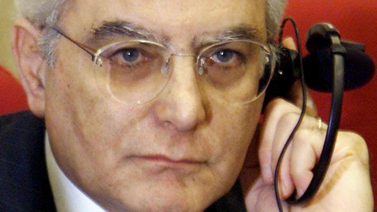 (Sergio Mattarella, le nouveau président italien © MAXPPP)