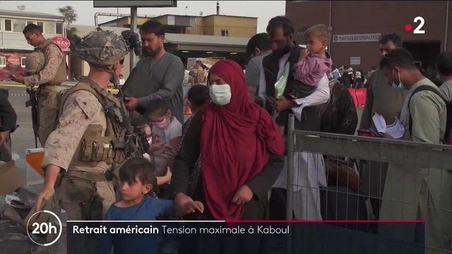 Kaboul : tension extrême 24 heures avant le retrait définitif des troupes américaines