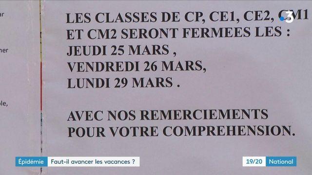 Covid-19 : les fermetures des écoles s'enchaînent, faut-il avancer les vacances ?