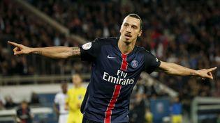 Le footballeur Zlatan Ibrahimovic, le 7 novembre 2015 à Paris. (BENOIT TESSIER / REUTERS)
