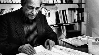 Pierre Boulez à Paris en 1992  (Michele Brabo / Leemage / AFP)