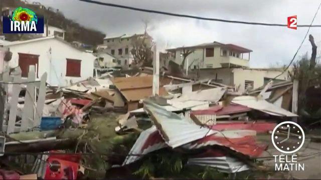 Saint-Martin : 95% des habitations touchées par l'ouragan
