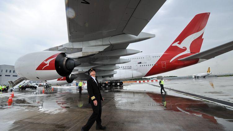 """Selon un spécialiste, les cas de pilotes en état d'ivresse sont """"extrêmement rares"""". (ROSLAN RAHMAN / AFP)"""