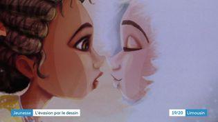 Illustration de Nafissa et les esprits du Nord, de Laure Phelipon et Arnaud Toulouse (Laure Phelipon)