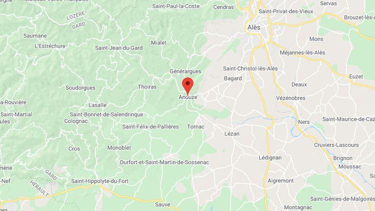 Anduze (Gard) (GOOGLE MAPS)