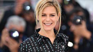 La comédienne Marina Foïs, Festival de Cannes, Un Certain Regard, le 15 mai 2019 (MUSTAFA YALCIN / ANADOLU AGENCY)