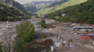 Saint-Martin-Vésubie après le passage de la tempête Alex (France 3 Côte d'Azur)