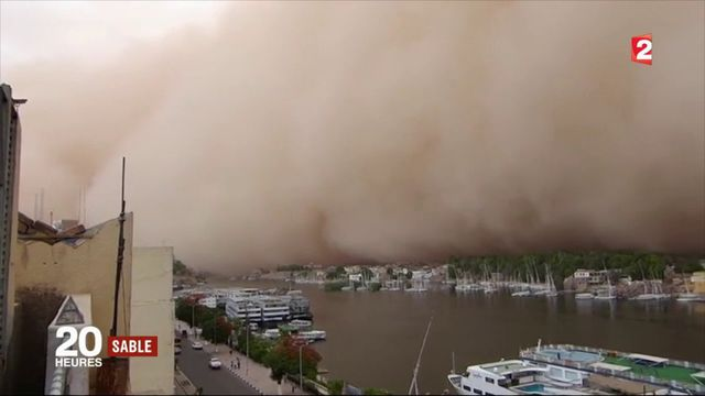 Moyen-Orient : les tempêtes de sable se multiplient