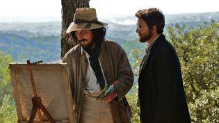 Guillaume Gallienne est Cézanne, Guillaume Canet est Zola  (Luc Roux)