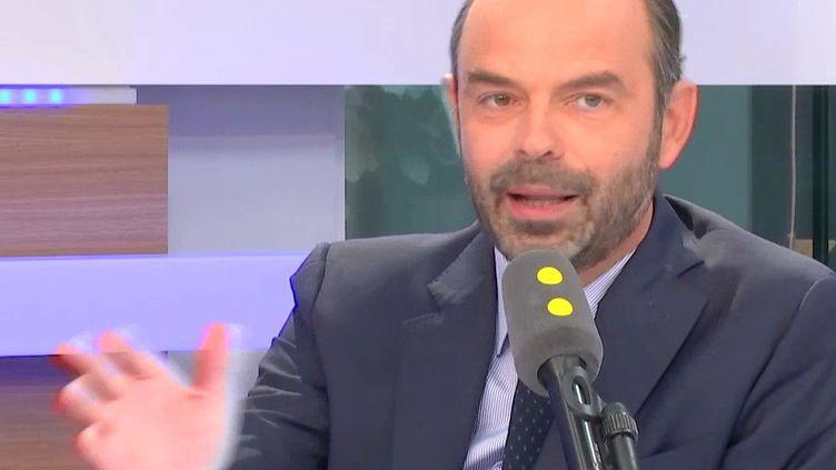 Le Premier ministre, Edouard Philippe, était l'invité de franceinfo. (FRANCEINFO)