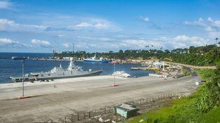 Le port de Malabo, sur l'île de Bioko, en Guinée Equatoriale, le 4 novembre 2017. (MICHAEL RUNKEL / ROBERT HARDING PREMIUM)