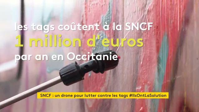Des drones anti-graffiti à la SNCF