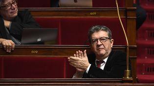 Jean-Luc Mélenchon, le 23 janvier 2019, à Paris. (ERIC FEFERBERG / AFP)