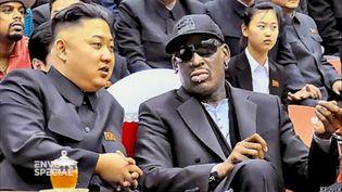 Rodman et Kim (FRANCE 2)