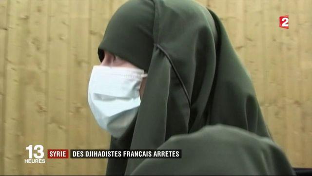 Syrie : des djihadistes français arrêtés