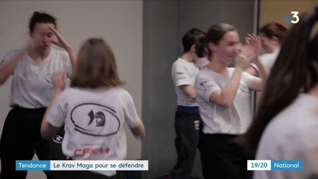 Le krav-maga, nouveau sport de défense pour les femmes