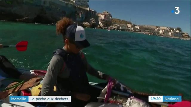 Environnement : une course en kayak pour le ramassage des déchets à Marseille