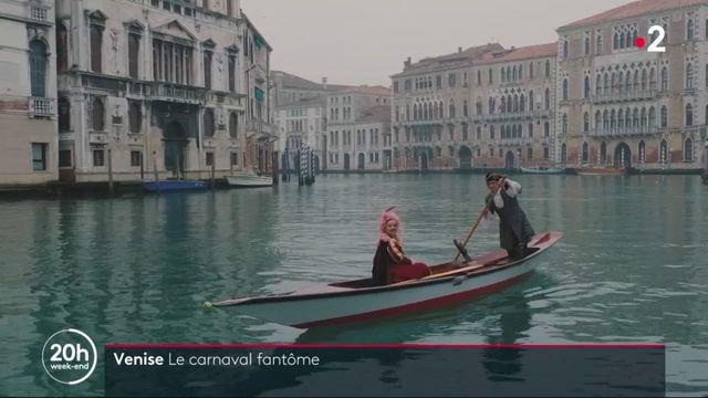 Venise : ville à l'arrêt et carnaval fantôme
