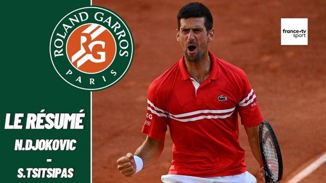 Les meilleurs moments de la finale messieurs Novak Djokovic - Stefanos Tsitsipas