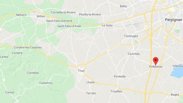 Pollestres (Pyrénées-Orientales). (GOOGLE MAPS)