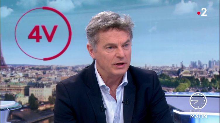 Fabien Roussel, le patron du PCF (France 2)
