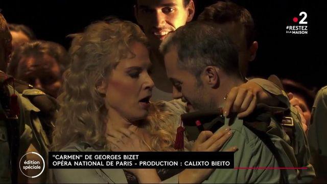 "Opéra Garnier : ""Carmen"", mis en scène par Roberto Alagna, disponible sur internet"