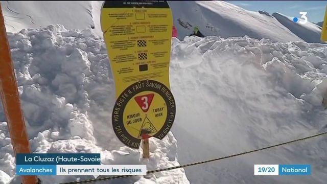 Avalanches : malgré la vigilance orange, ils prennent  tous les risques