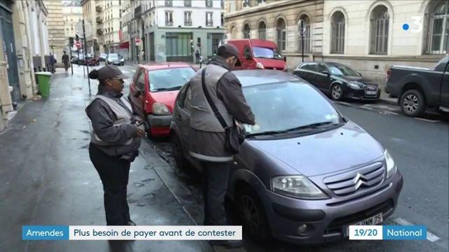 PV de stationnement : le soulagement des automobilistes