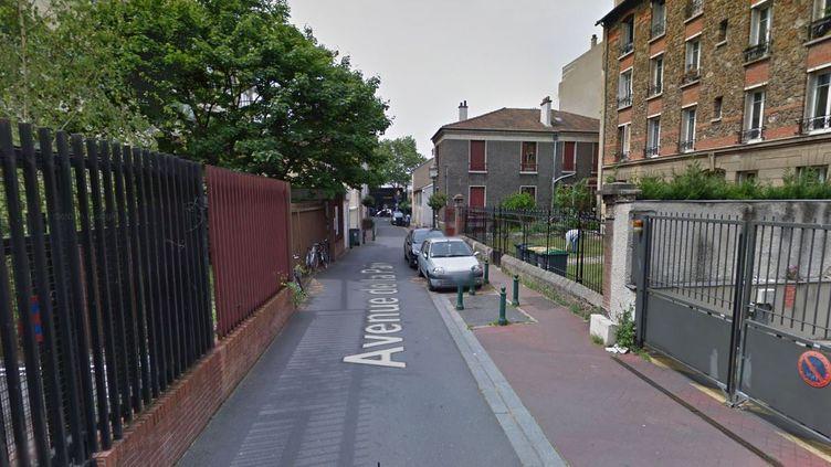 Capture d'écran de l'avenue de la Paix, à Montrouge (Hauts-de-Seine). (GOOGLE STREET VIEW)